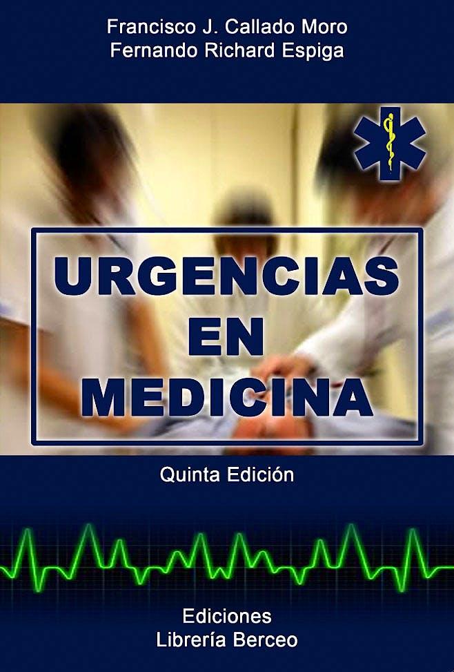 Portada del libro 9788495548092 Urgencias en Medicina
