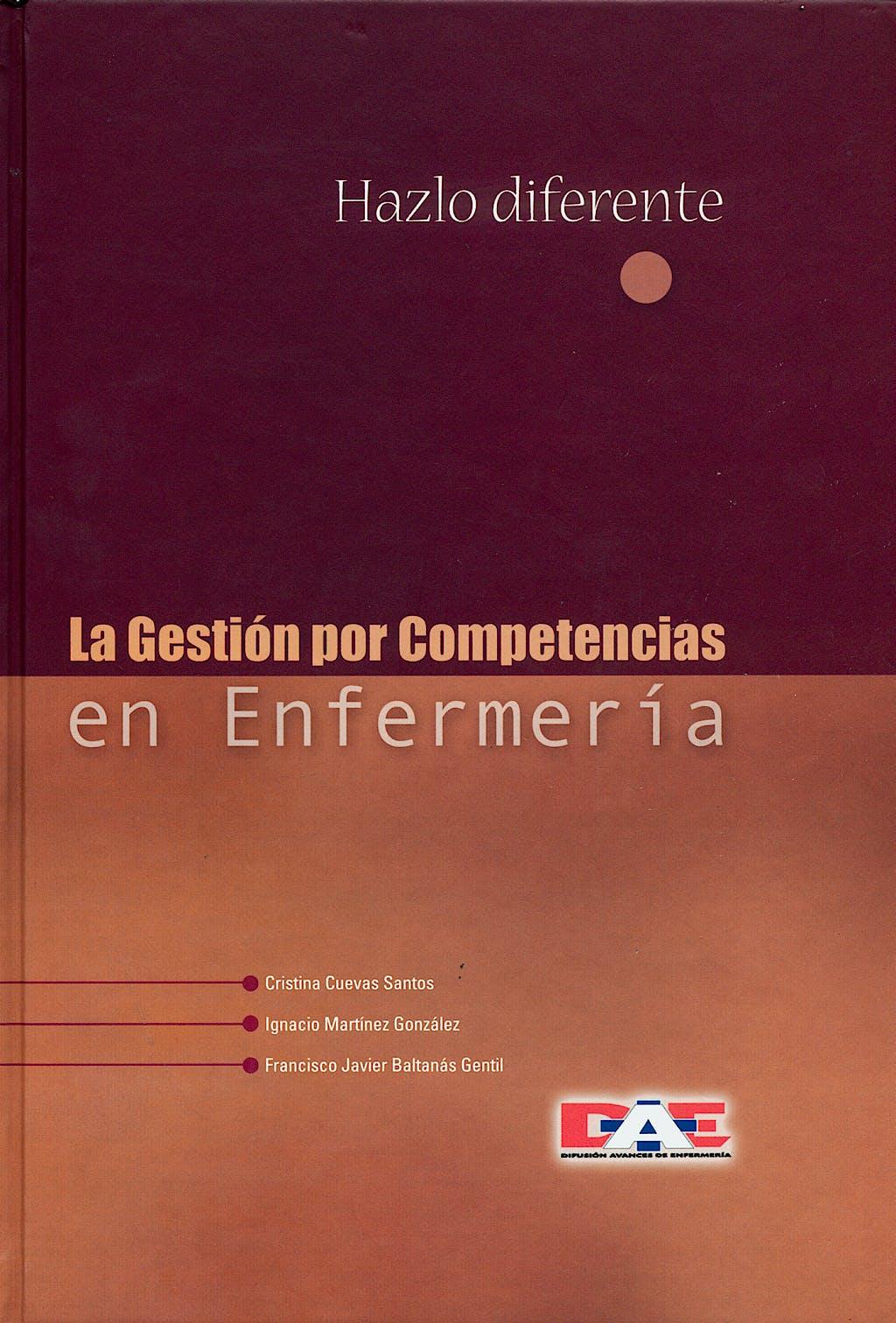 Portada del libro 9788495626301 La Gestion por Competencias en Enfermeria