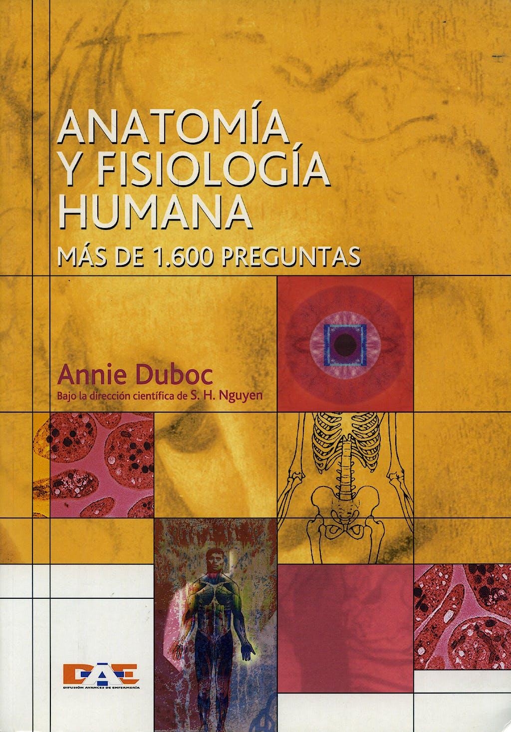Producto: Anatomia y Fisiologia Humana. mas de 1600 Preguntas