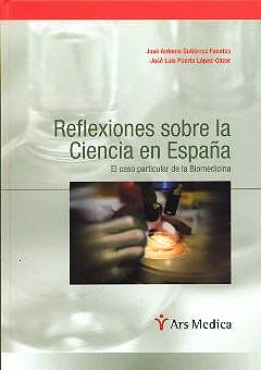 Portada del libro 9788495670335 Reflexiones sobre la Ciencia en España