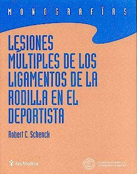 Portada del libro 9788495670380 Lesiones Multiples de los Ligamentos de la Rodilla en el Deportista