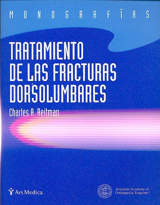 Portada del libro 9788495670618 Tratamiento de las Fracturas Dorsolumbares