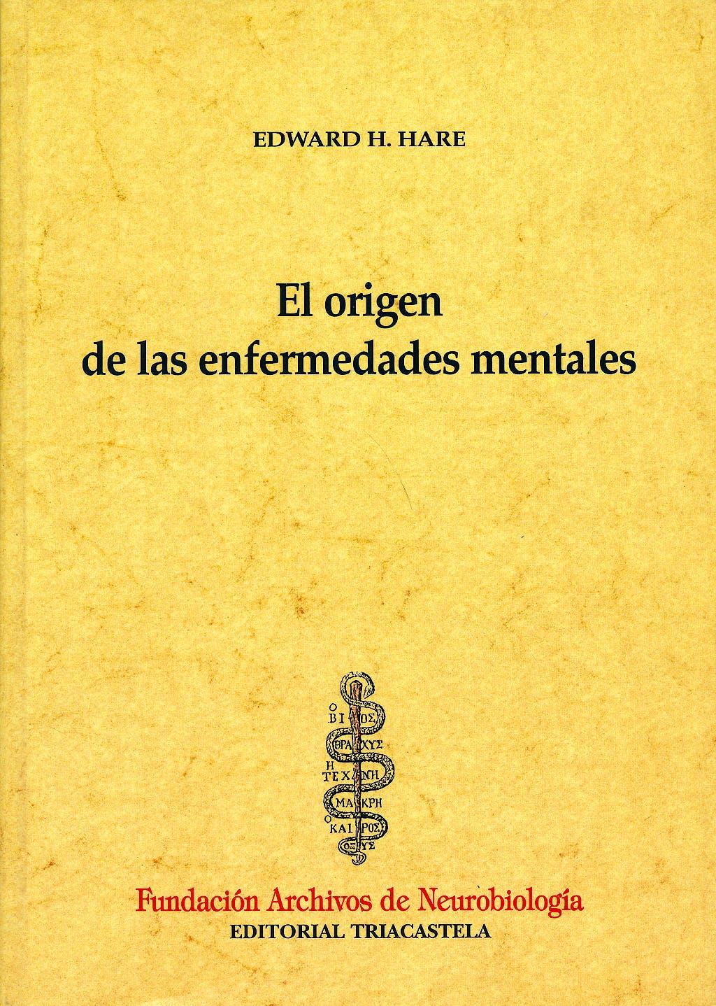 Portada del libro 9788495840097 El Origen de las Enfermedades Mentales