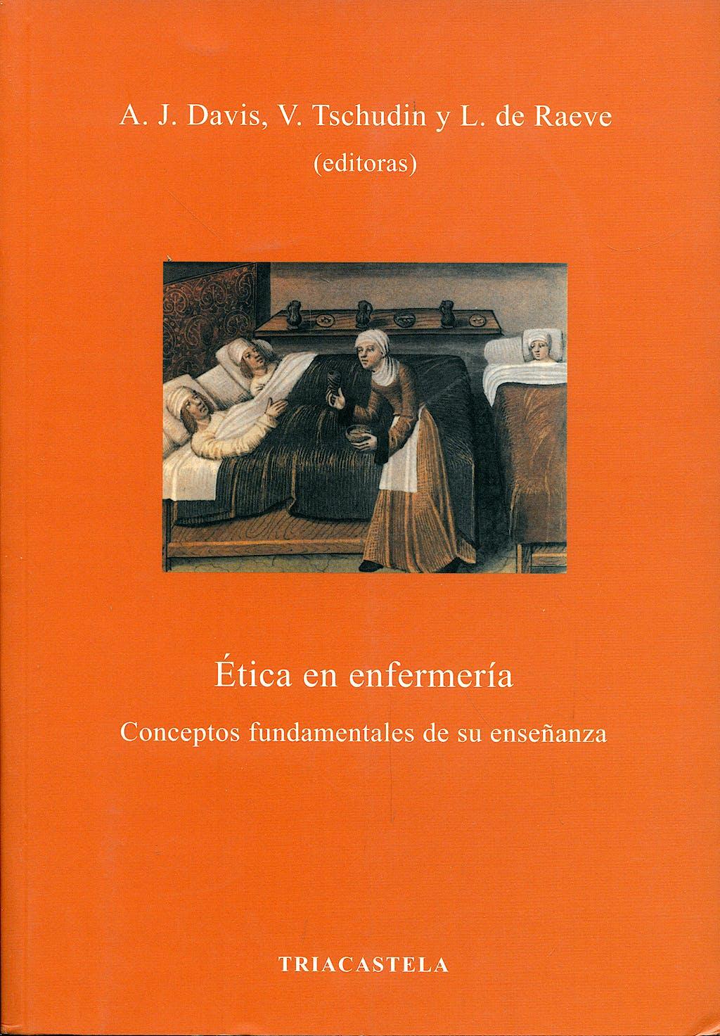 Portada del libro 9788495840400 Etica en Enfermeria. Conceptos Fundamentales de Su Enseñanza
