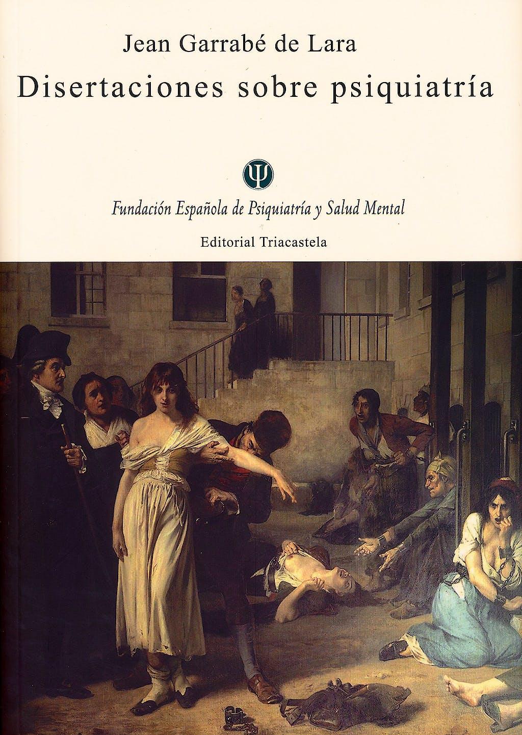 Portada del libro 9788495840639 Disertaciones sobre Psiquiatria
