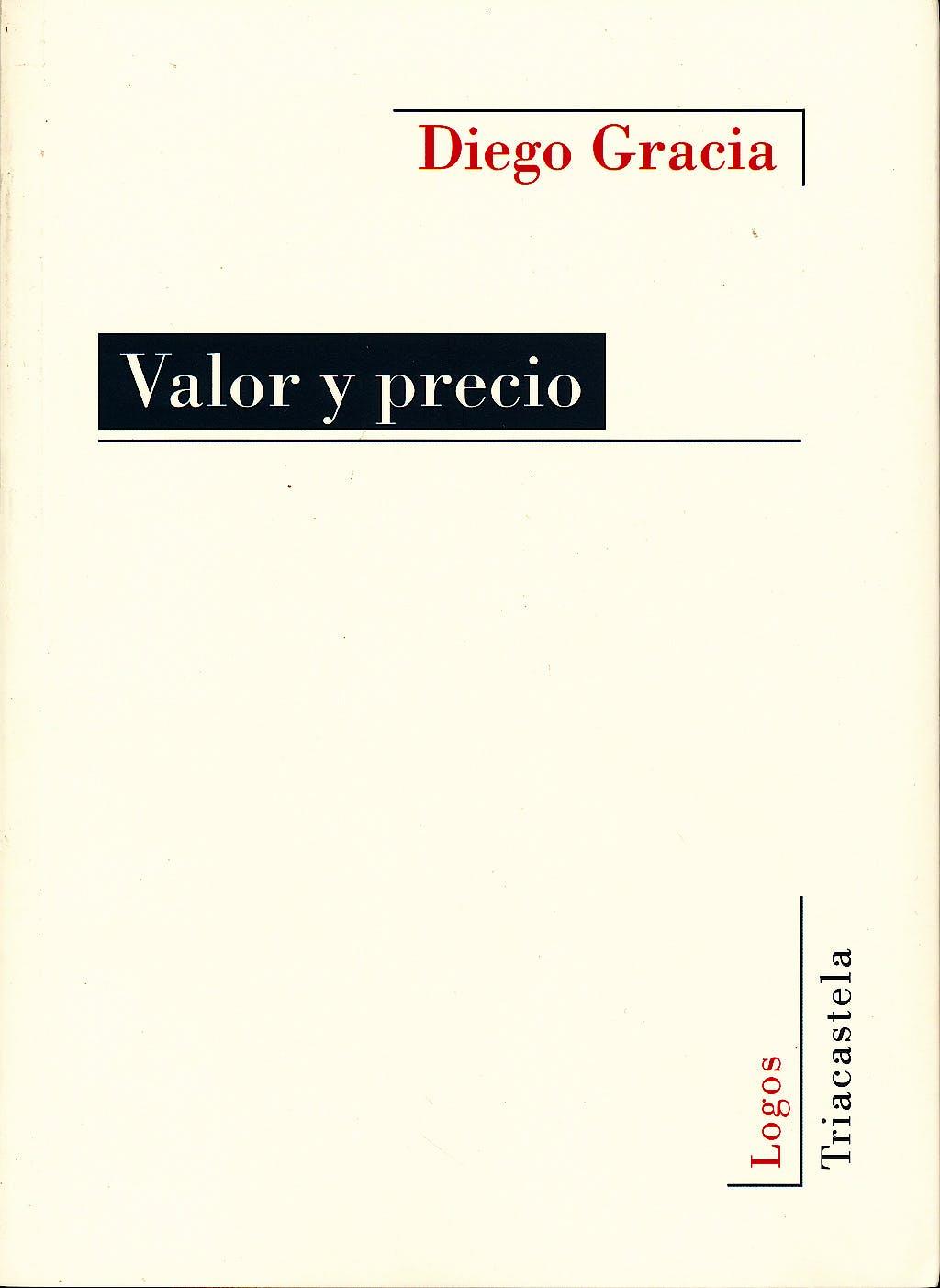 Portada del libro 9788495840745 Valor y Precio