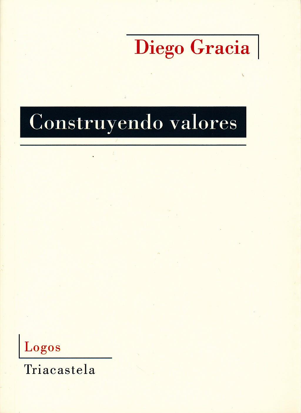 Portada del libro 9788495840769 Construyendo Valores