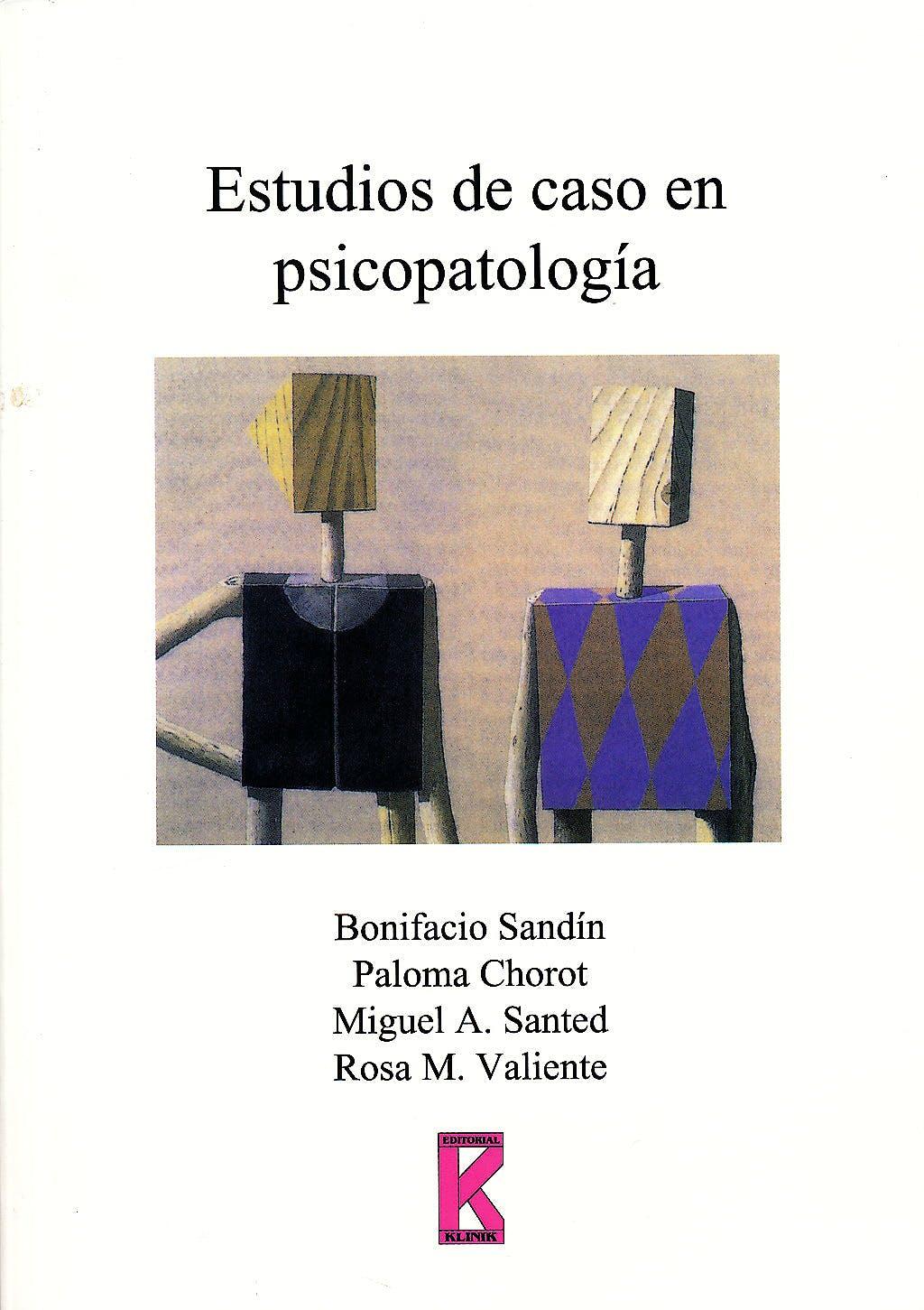 Portada del libro 9788495884121 Estudios de caso en Psicopatologia