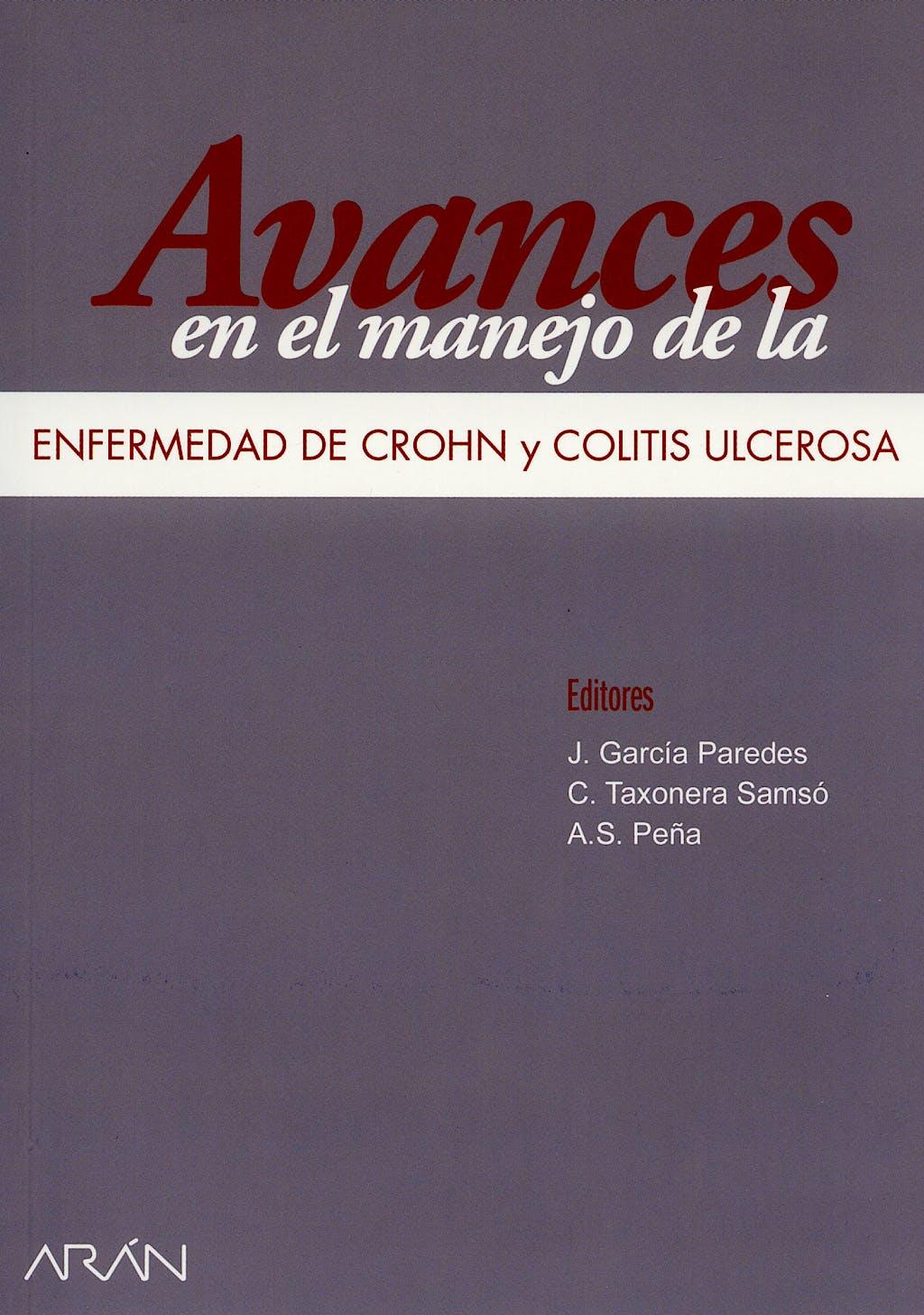 Portada del libro 9788495913920 Avances en el Manejo de la Enfermedad de Crohn y Colitis Ulcerosa