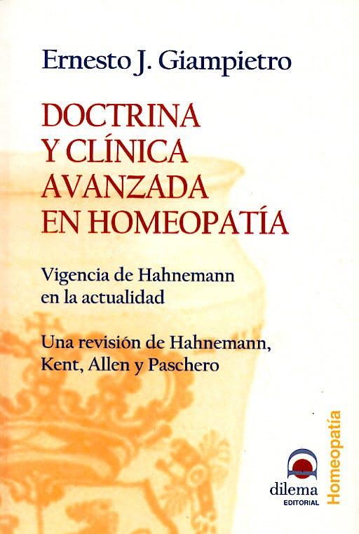 Portada del libro 9788496079281 Doctrina y Clinica Avanzada en Homeopatia