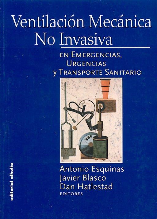 Portada del libro 9788496083035 Ventilación Mecánica no Invasiva en Emergencias, Urgencias y Transporte Sanitario