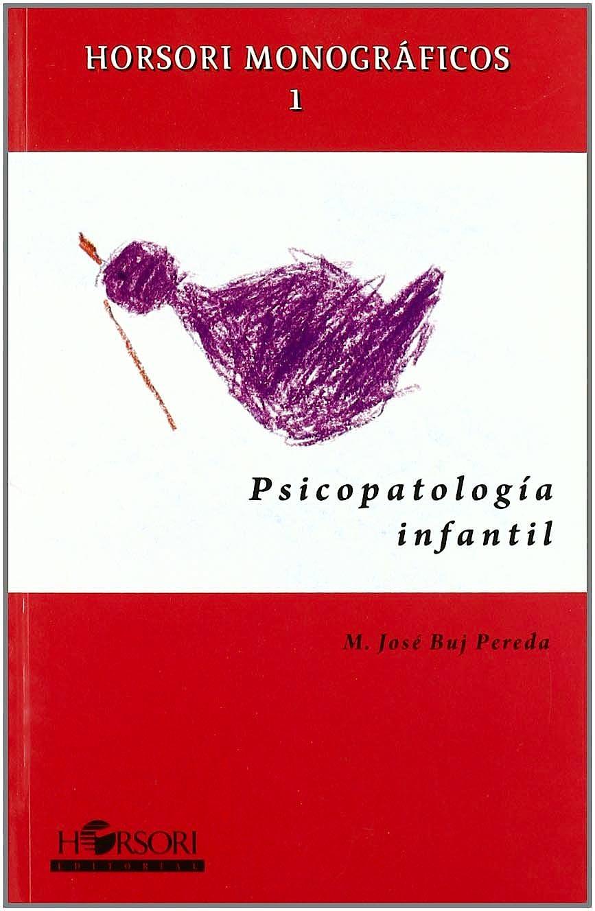 Portada del libro 9788496108448 Psicopatologia Infantil
