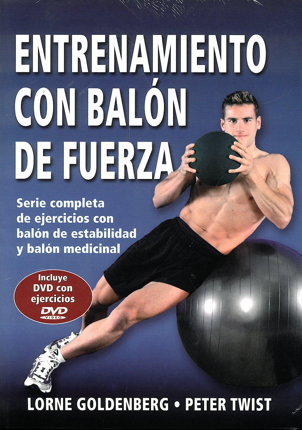 Portada del libro 9788496111684 Entrenamiento con Balon de Fuerza + Dvd
