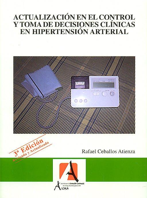 Portada del libro 9788496224322 Actualizacion en el Control y Toma de Decisiones Clinicas en Hipertension Arterial