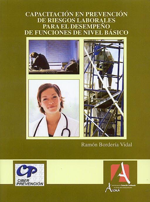 Portada del libro 9788496224339 Capacitacion en Prevencion de Riesgos Laborales para el Desempeño de F