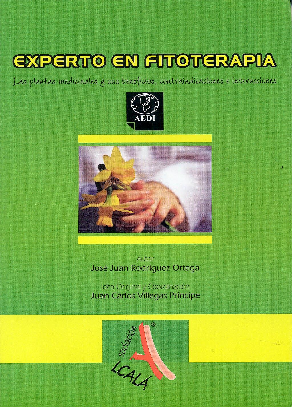 Portada del libro 9788496224957 Experto en Fitoterapia
