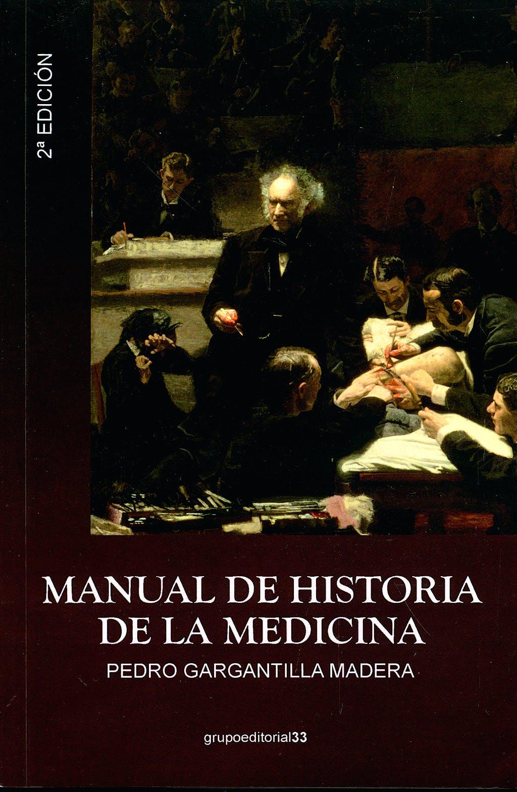 Portada del libro 9788496257597 Manual de Historia de la Medicina