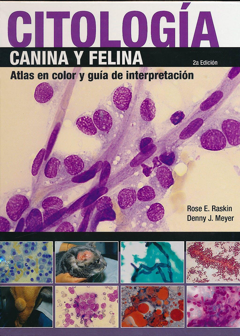 Portada del libro 9788496344310 Citologia Canina y Felina