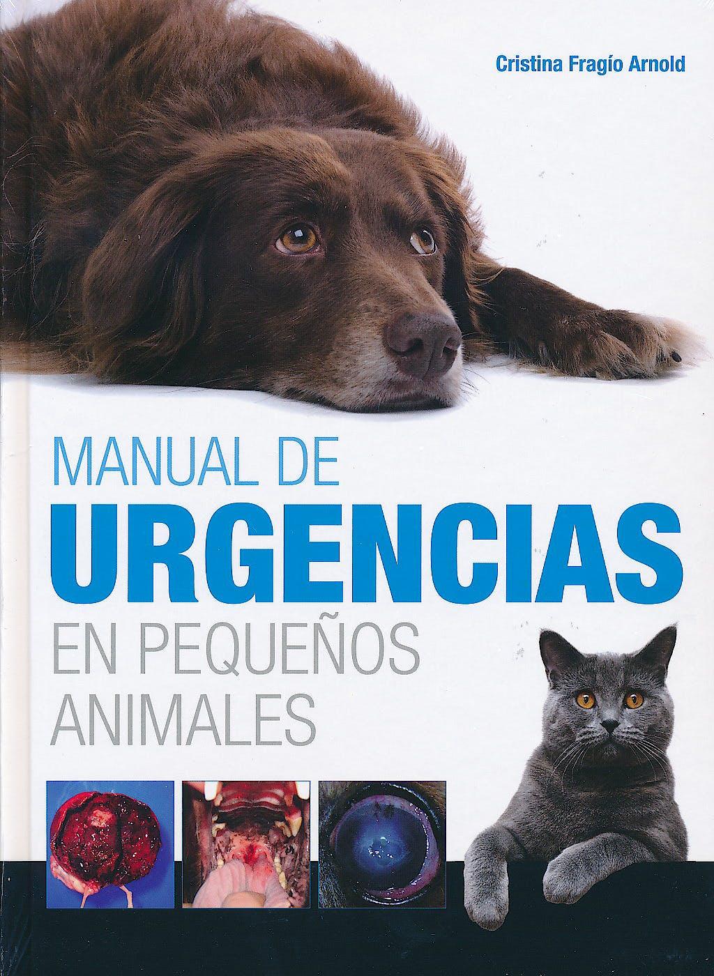 Portada del libro 9788496344358 Manual de Urgencias en Pequeños Animales