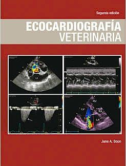 Portada del libro 9788496344402 Ecocardiografia Veterinaria