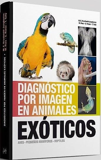 Portada del libro 9788496344419 Diagnóstico por Imagen en Animales Exóticos