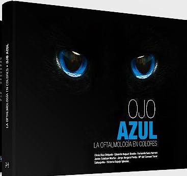 Portada del libro 9788496344525 La Oftalmología en Colores: Ojo Azul