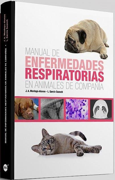 Portada del libro 9788496344617 Manual de Enfermedades Respiratorias en Animales de Compañía