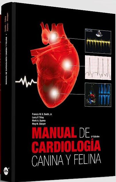 Portada del libro 9788496344631 Manual de Cardiología Canina y Felina