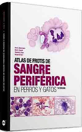 Portada del libro 9788496344648 Atlas de Frotis de Sangre Periférica en Perros y Gatos