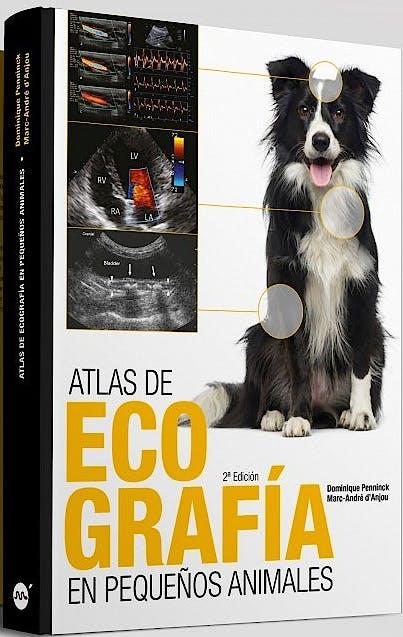 Portada del libro 9788496344662 Atlas de Ecografía en Pequeños Animales