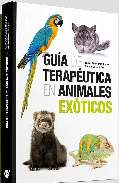 Portada del libro 9788496344679 Guía de Terapéutica en Animales Exóticos