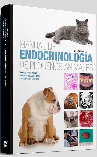 Portada del libro 9788496344730 Manual de Endocrinología de Pequeños Animales