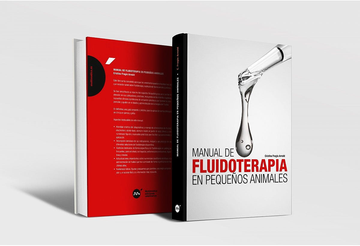 Portada del libro 9788496344761 Manual de Fluidoterapia en Pequeños Animales
