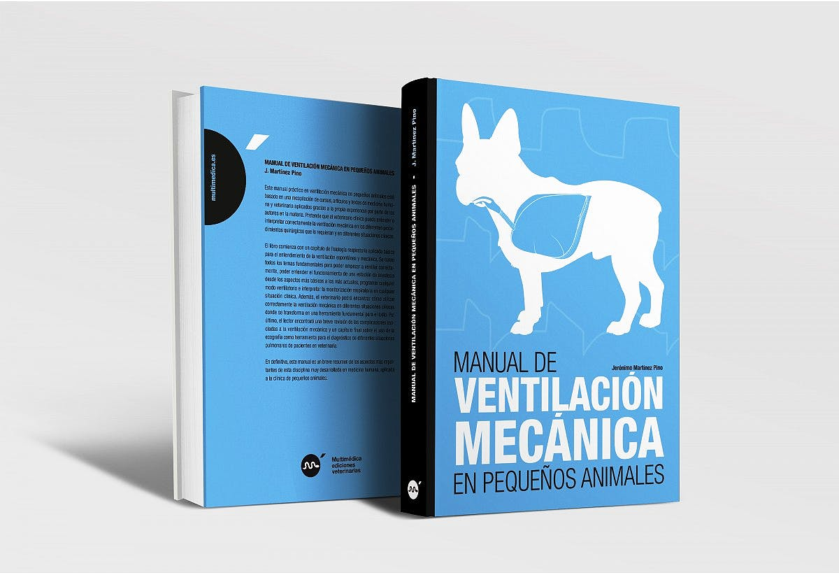 Portada del libro 9788496344785 Manual de Ventilación Mecánica en Pequeños Animales