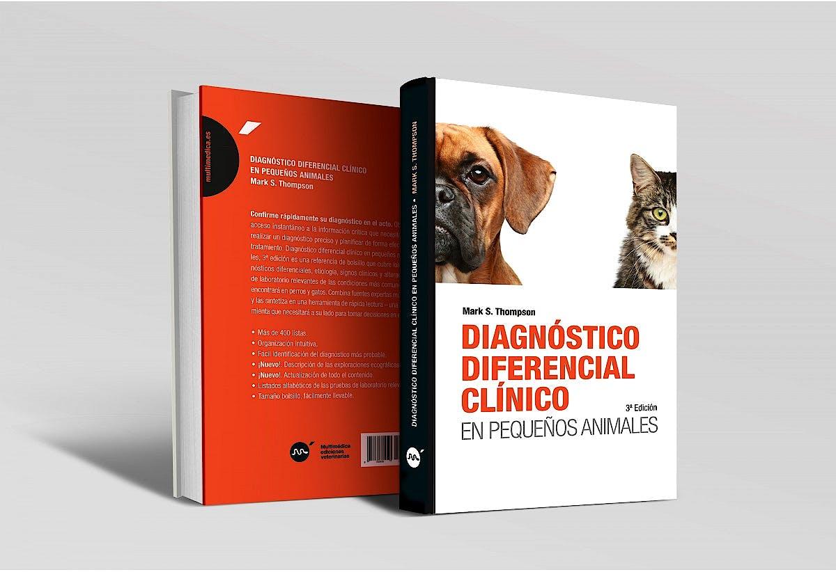 Portada del libro 9788496344822 Diagnóstico Diferencial Clínico en Pequeños Animales
