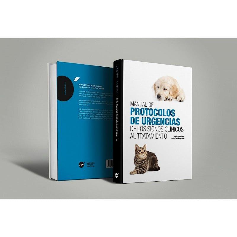 Portada del libro 9788496344860 Manual de Protocolos de Urgencias de los Signos Clínicos al Tratamiento