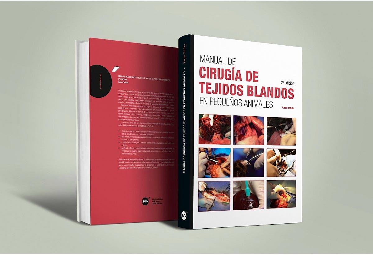 Portada del libro 9788496344907 Manual de Cirugía de Tejidos Blandos en Pequeños Animales