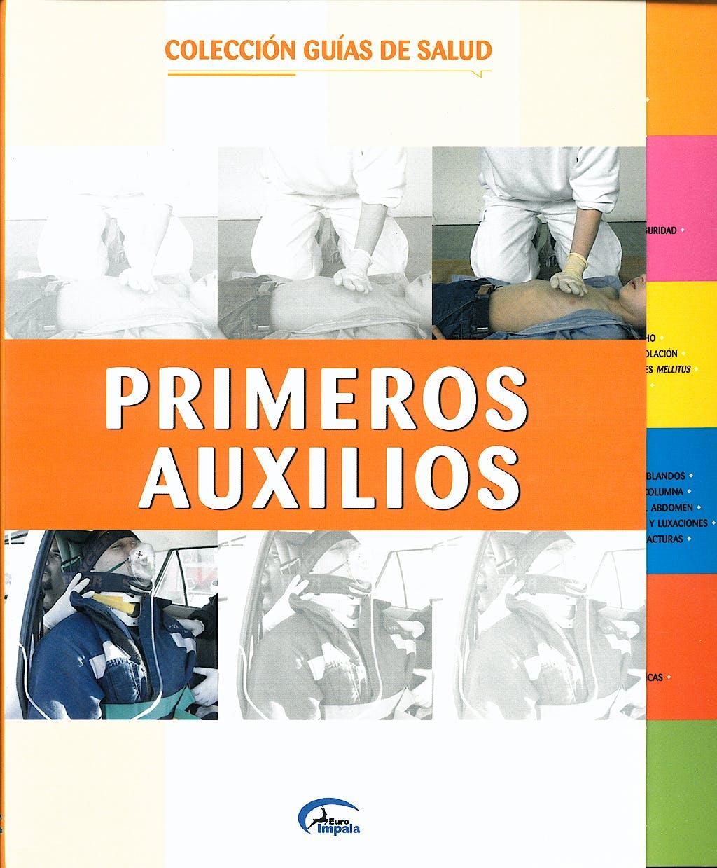 Portada del libro 9788496355781 Primeros Auxilios (Coleccion Guias de Salud)