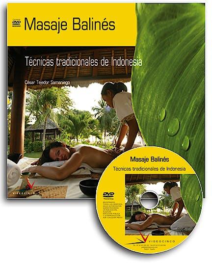 Portada del libro 9788496699052 Masaje Balines: Tecnicas Tradicionales de Indonesia (Libro + Dvd)