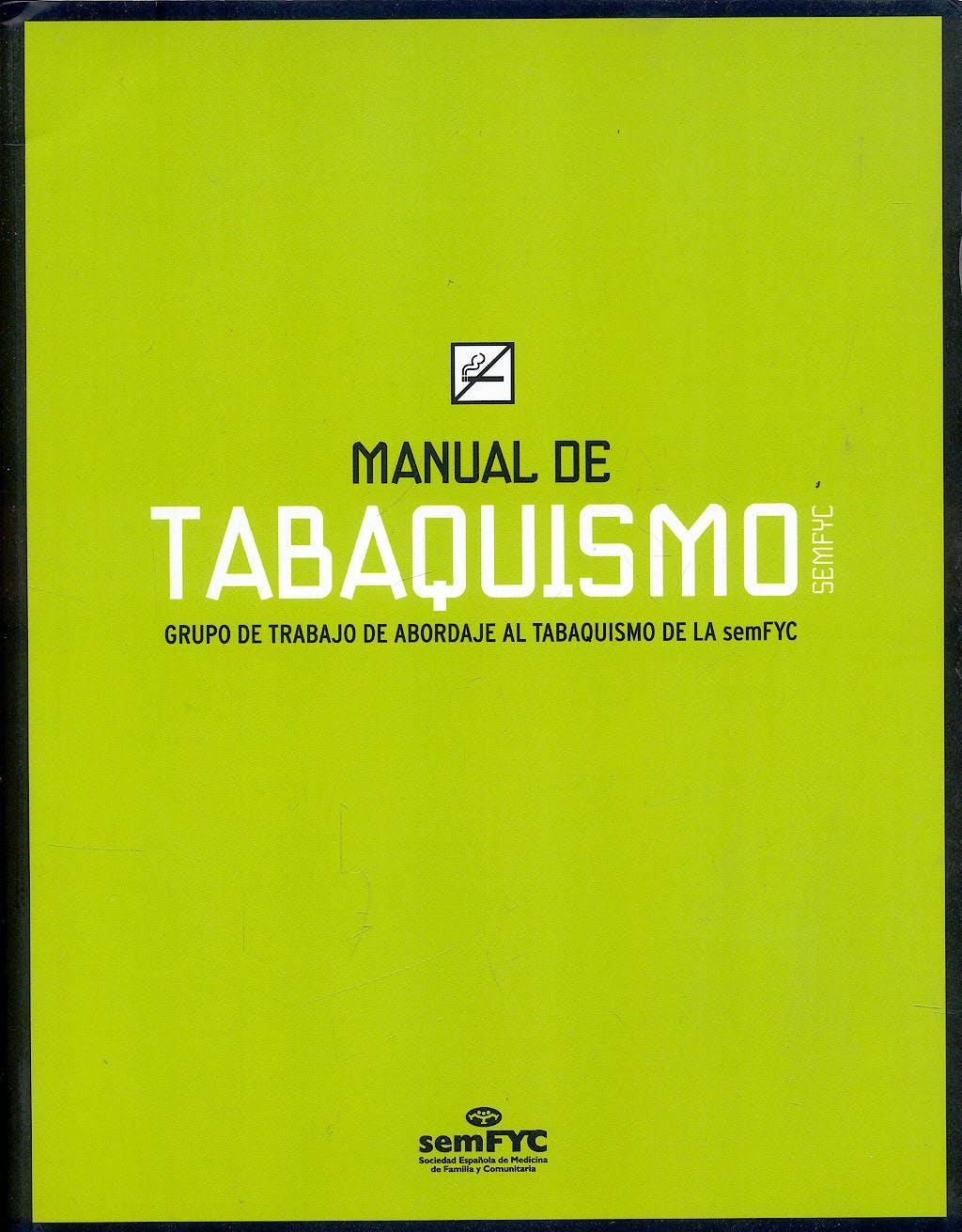 Portada del libro 9788496761551 Manual de Tabaquismo