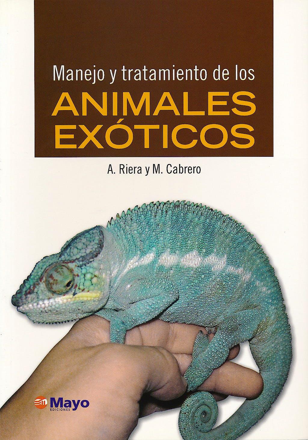 Portada del libro 9788496792289 Manejo y Tratamiento de los Animales Exoticos