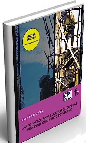 Portada del libro 9788496804425 Capacitacion para el Desarrollo de las Funciones de Recurso Preventivo
