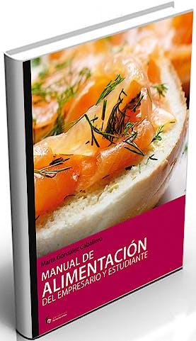 Portada del libro 9788496804463 Manual de Alimentacion del Empresario y Estudiante