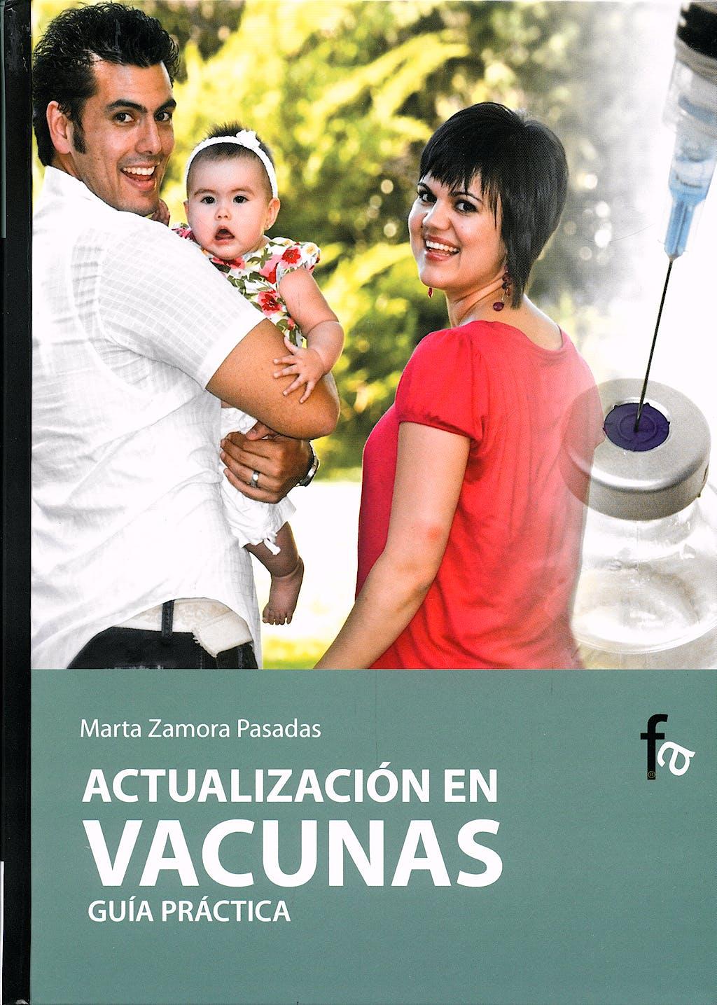 Portada del libro 9788496804760 Actualizacion en Vacunas. Guia Practica