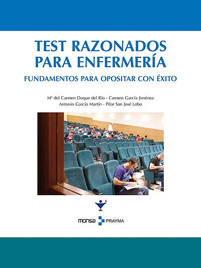 Portada del libro 9788496823679 Test Razonados para Enfermeria
