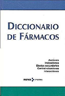 Portada del libro 9788496823686 Diccionario de Farmacos
