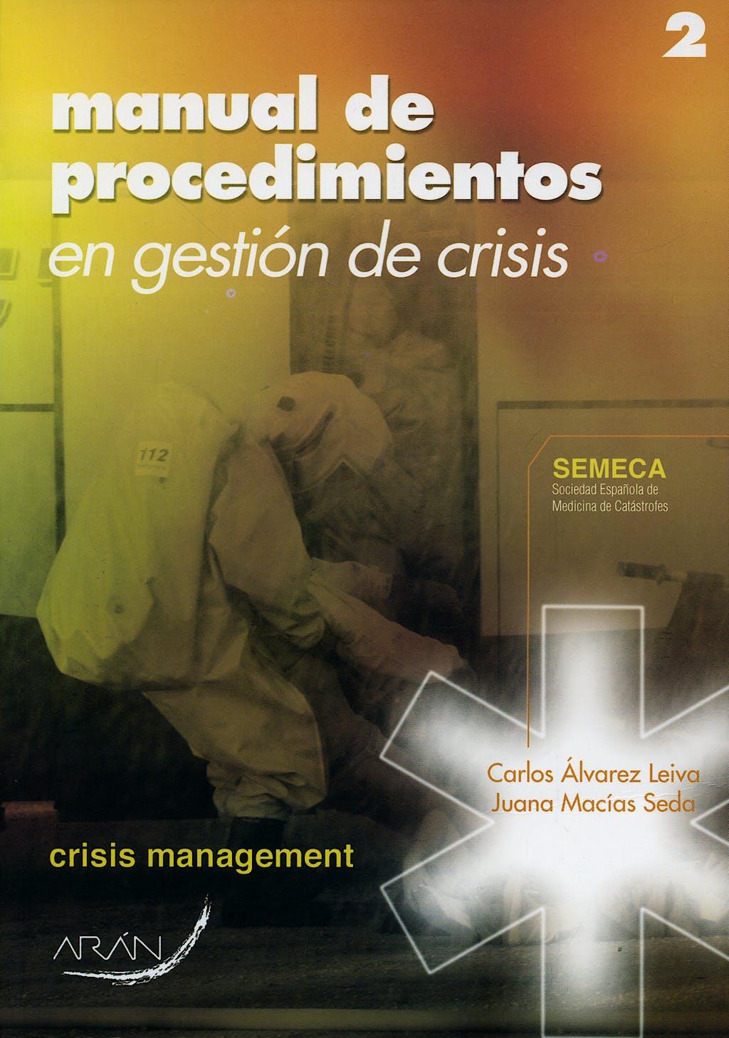 Portada del libro 9788496881273 Manual de Procedimientos en Gestión de Crisis
