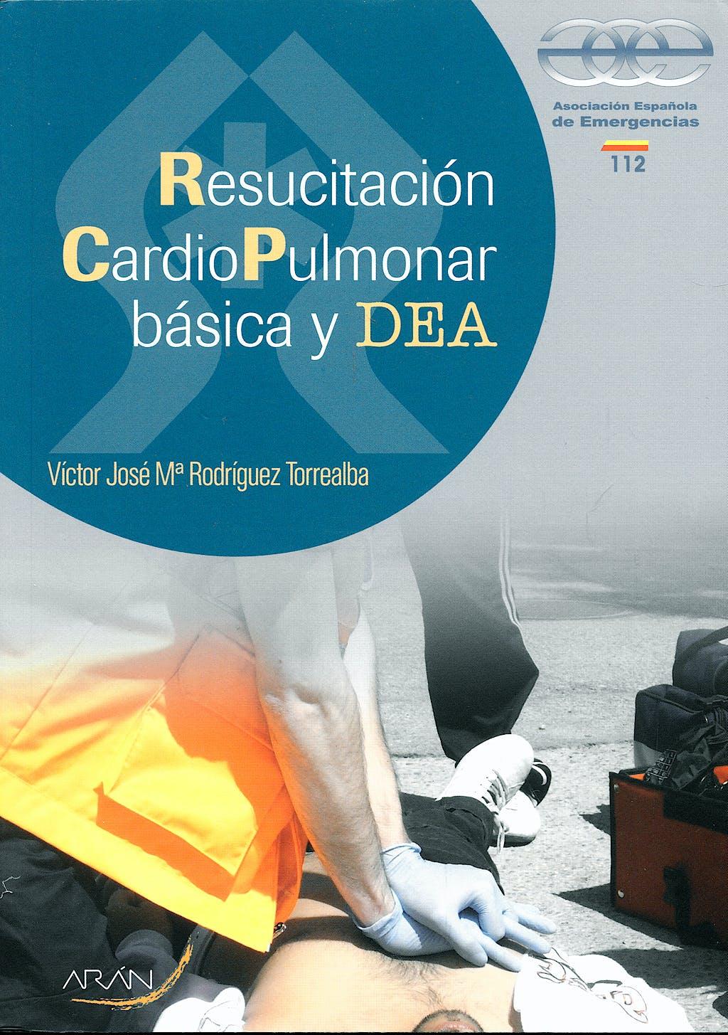Portada del libro 9788496881662 Resucitacion Cardiopulmonar Basica y Dea