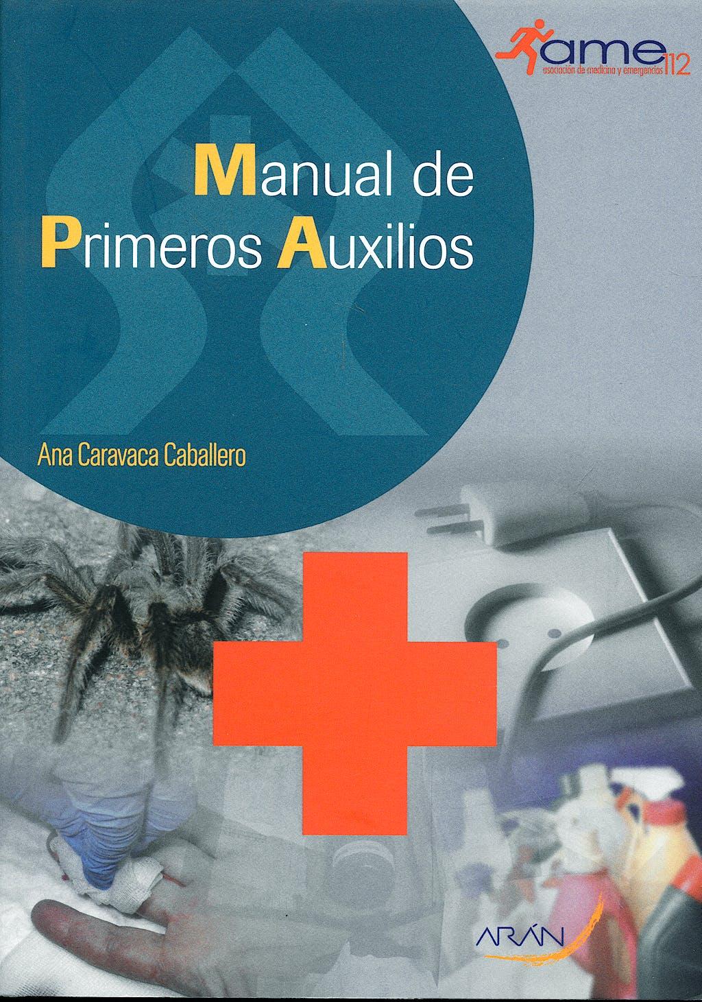 Portada del libro 9788496881716 Manual de Primeros Auxilios