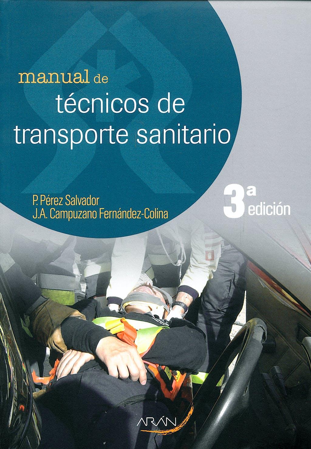 Portada del libro 9788496881761 Manual de Tecnicos de Transporte Sanitario